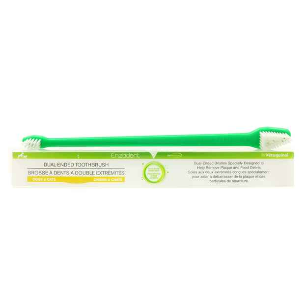 Picture of ENZADENT DUAL ENDED TOOTHBRUSH - ea