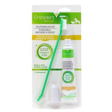 Picture of ENZADENT TOOTHBRUSH POULTRY KIT - 90g