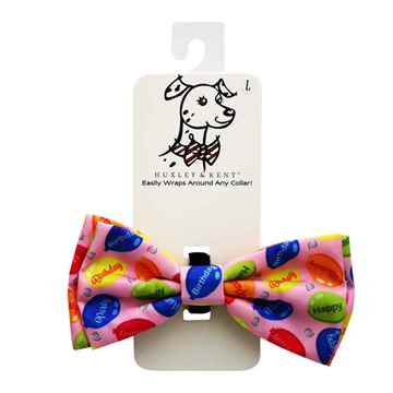 Picture of CANINE BOW TIE Party Time - Pink