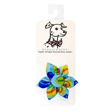 Picture of CANINE PINWHEEL NECK WEAR Party Time - Blue
