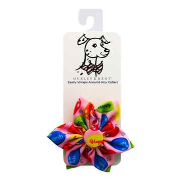 Picture of CANINE PINWHEEL NECK WEAR Party Time - Pink