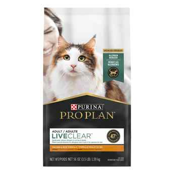 Picture of FELINE PRO PLAN LIVECLEAR ADULT CHICKEN & RICE - 1.59kg