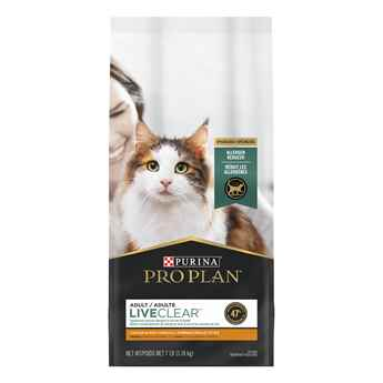 Picture of FELINE PRO PLAN LIVECLEAR ADULT CHICKEN & RICE - 3.18kg