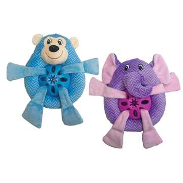 Picture of TOY DOG SPOT PLUSH NUBBINS TREAT BELLY Assorted Characters - 9in