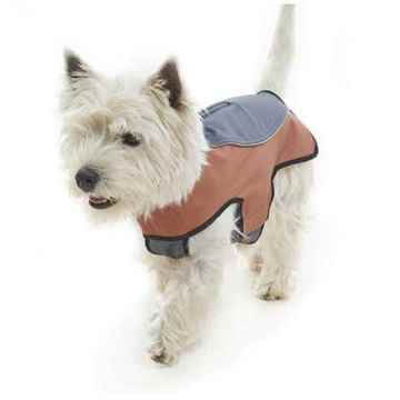 Picture of COAT BUSTER OUTDOOR WINTER WEAR - Steel Grey & Leather Brown