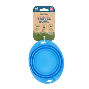 Picture of BOWL BECO SILICONE TRAVEL BOWL - Blue