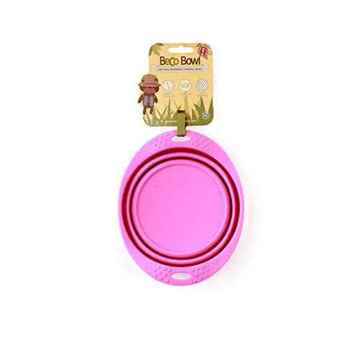 Picture of BOWL BECO SILICONE TRAVEL BOWL - Pink
