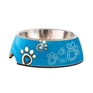 Picture of BOWL ROGZ BUBBLE 2 in 1 - Turquoise Paw
