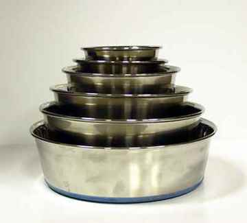 Picture of BOWL DURAPET Non Slip Stainless Steel