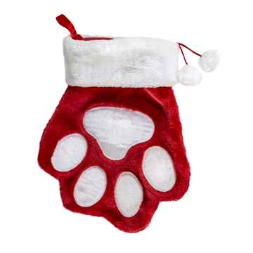 Picture of XMAS HOLIDAY KONG PET PAW STOCKING - Large (nr)