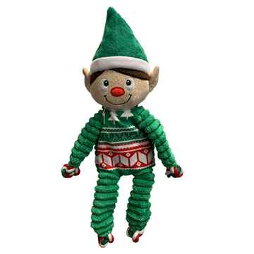 Picture of XMAS HOLIDAY KONG Floppy Knots Elf - Medium(nr)