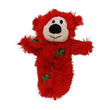 Picture of XMAS HOLIDAY KONG CAT Softies Patchwork Bear Assorted
