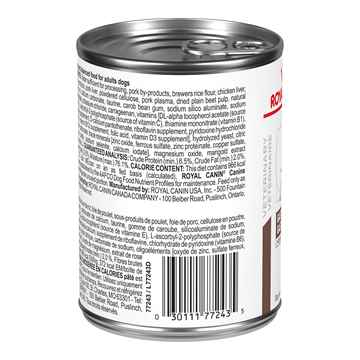 Picture of CANINE RC GASTROINTESTINAL MODERATE CALORIE LOAF - 12 x 385gm cans