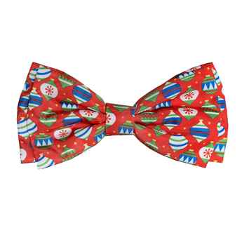 Picture of XMAS CANINE BOW TIE Bedecked - Large (nr)