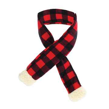 Picture of XMAS HOLIDAY BUFFALO CHECK SCARF - Small