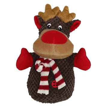 Picture of XMAS HOLIDAY PETLOU Plush Christmas Reindeer - 8in(nr)