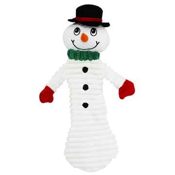 Picture of XMAS HOLIDAY PETLOU Plush Floppy Snowman - 12in(nr)