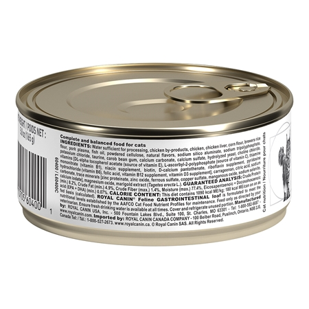 Picture of FELINE RC GI GASTROINTESTINAL - 24 x 165gm cans
