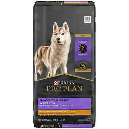 Picture of CANINE PROPLAN ACTIVE 27/17 CHICKEN & RICE - 17kg