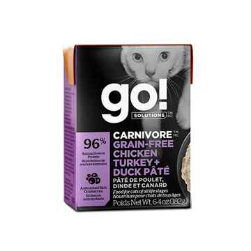 Picture of FELINE GO! Fit+Free GF Cat Chick/Turkey/Duck Pate - 24x182g tetrapak