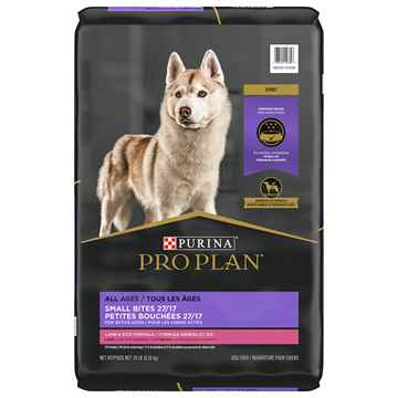 Picture of CANINE PRO PLAN 27/17 SMALL BITE LAMB & RICE - 8.16kg