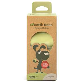 Picture of PET WASTE EARTH RATED PoopBags Compostable 9x13in NS - 8 rollsx15bags
