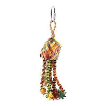 Picture of HARI RUSTIC TREASURE BIRD TOY Star Basket (81208) - Small