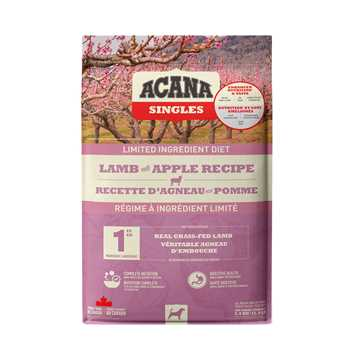 Picture of CANINE ACANA SINGLES LAMB with APPLE - 5.4kg