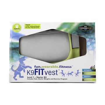 Picture of FITPAWS CANINE FITVEST Green - Medium