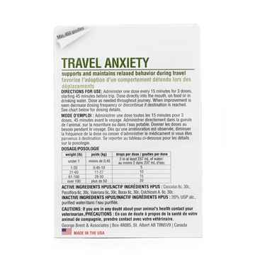 Picture of HOMEOPET TRAVEL ANXIETY - 15ml