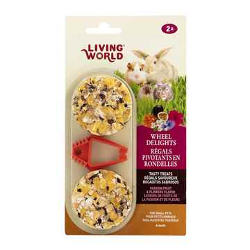 Picture of LIVING WORLD WHEEL DELIGHTS Passion Fruits/Flowers (60693) - 2/pk