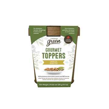 Picture of LIVING WORLD SMALL ANIMAL GREEN GOURMET TOPPERS Insects (65366) - 125g