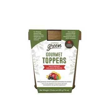 Picture of LIVING WORLD SMALL ANIMAL GREEN GOURMET TOPPERS Fruit Medley (65367) - 215g