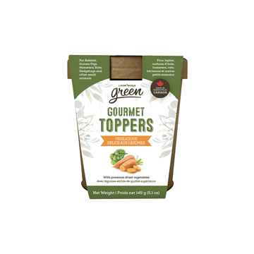Picture of LIVING WORLD SMALL ANIMAL GREEN GOURMET TOPPERS Vegilicious (65368) - 145g