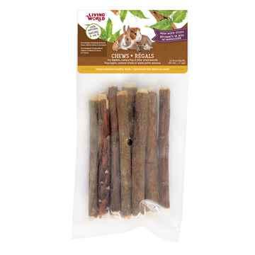 Picture of LIVING WORLD SMALL ANIMAL CHEWS Neem Wood Sticks (61104) - 10/bag
