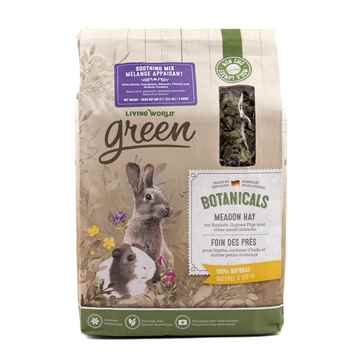 Picture of LIVING WORLD GREEN BOTANICALS MEADOW HAY Soothing Mix - 500g