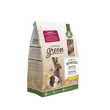 Picture of LIVING WORLD GREEN BOTANICALS MEADOW HAY Rainbow Mix - 450g