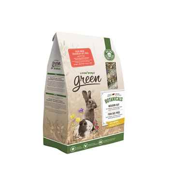 Picture of LIVING WORLD GREEN BOTANICALS MEADOW HAY Field Fresh - 500g