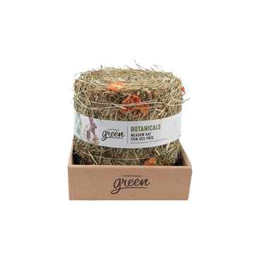 Picture of LIVING WORLD GREEN BOTANICALS MEADOW HAY BALE Carrot - 500g