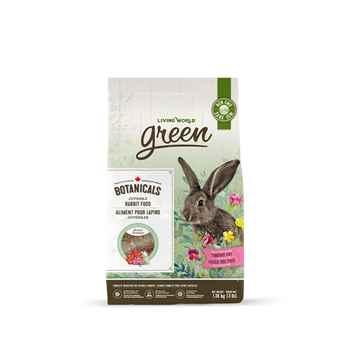 Picture of LIVING WORLD GREEN BOTANICALS Juvenile Rabbit FOOD - 1.36kg/3lb