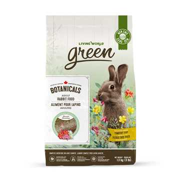 Picture of LIVING WORLD GREEN BOTANICALS Adult Rabbit FOOD - 1.36kg/3lb