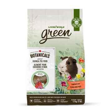 Picture of LIVING WORLD GREEN BOTANICALS Adult Guinea Pig FOOD - 1.36kg/3lb