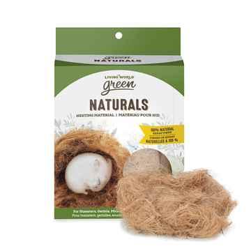 Picture of LIVING WORLD GREEN NATURALS NESTING MATERIAL Kenaf Fibre - 40g/1.4oz
