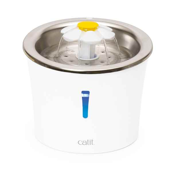 Picture of CATIT FLOWER FOUNTAIN STAINLESS STEEL (43725) - 3 Litre