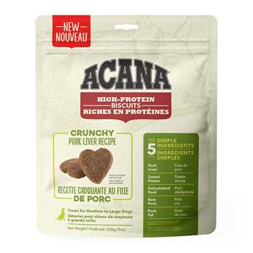 Picture of TREAT ACANA HIGH PROTEIN PORK LIVER BISCUITS Large - 255g/9oz