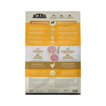 Picture of CANINE ACANA HEALTHY GRAINS POULTRY RECIPE - 1.8kg