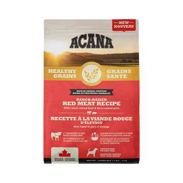 Picture of CANINE ACANA HEALTHY GRAINS RED MEAT RECIPE - 1.8kg