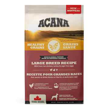 Picture of CANINE ACANA HEALTHY GRAINS ADULT LARGE BREED RECIPE - 10.2kg