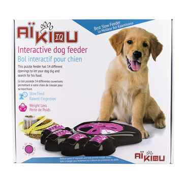Picture of BOWL AIKIOU CANINE INTERACTIVE FEEDER - Pink