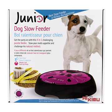 Picture of BOWL AIKIOU CANINE JR INTERACTIVE FEEDER - Pink